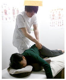 オステオパシー(腰椎)